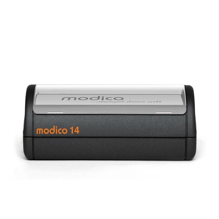 MODICO 14 104x76 mm, tekst, grafika, tabelki do stemlowania papieru.