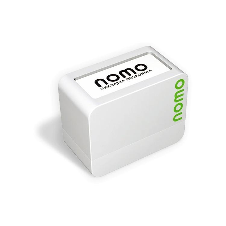 NOMO - 53x23 mm, biurowa i kieszonkowa do stemplowania papieru.