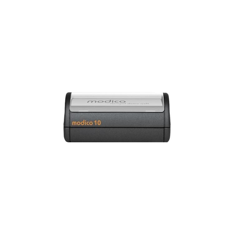 MODICO 10, 95x50 mm, tekst, grafika, tabelki do stemplowania papieru.